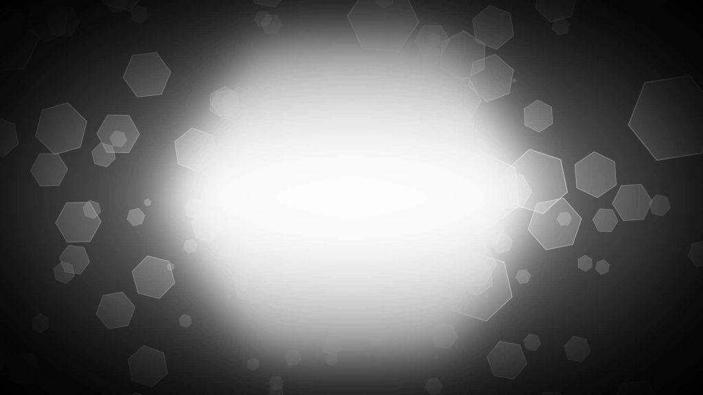 Abstract Static Video Matte with Geometric Particles and Spotlight