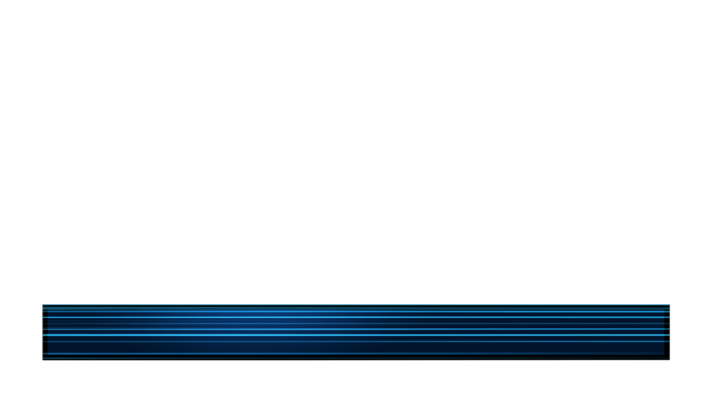 Abstract Still Video Lower Third with Neon Blue Lines